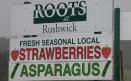Asparagus Farm Shop Sign