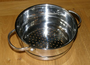 Pan top Steamer