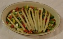 White Asparagus with Caper Salad