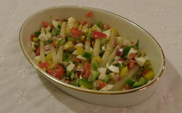 Canned Asparagus Salad