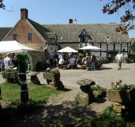 Fleece Inn Bretforton - part of Asparagus History in the Vale of Evesham