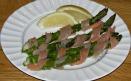 Asparagus & Smoked Salmon Appetizer