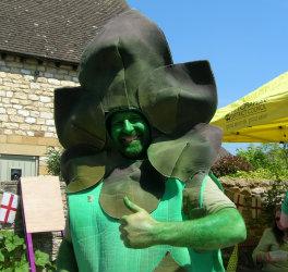 Gus the Asparagus Man
