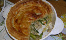 Chicken & Asparagus Pie